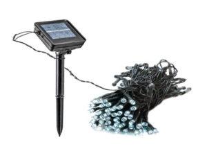 Гирлянды на солнечной батареи
