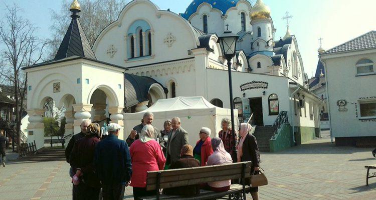 дом-интернат для ветеранов войны и труда «Свiтанак» - церковь