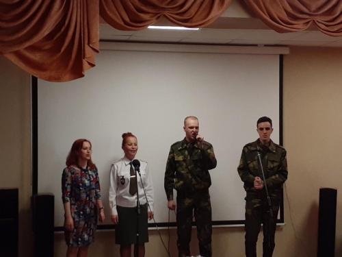 праздничный концерт ко Дню Победы от ВЧ 30151 г. Фаниполь